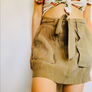 Old navy Soft Olive Mini Skirt
